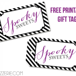 Free Printable Spooky Sweets Tags for Halloween