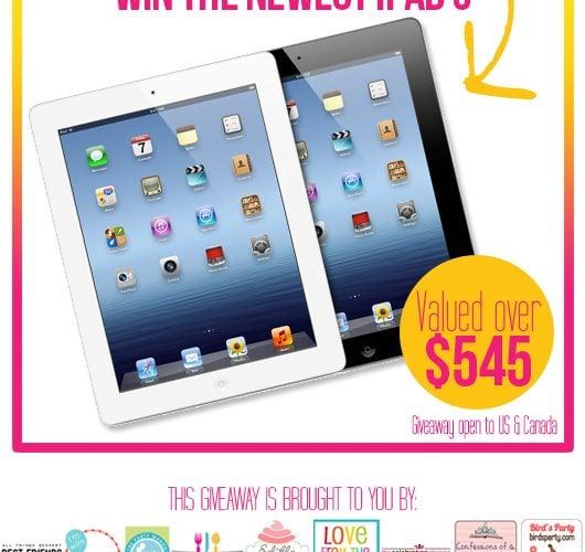 {Giveaway} Win an iPad 3!
