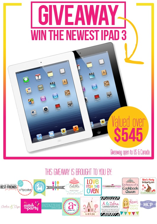 {Giveaway} Win an iPad 3!