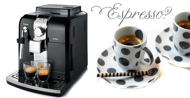 Philips Saeco Syntia Focus Espresso Machine