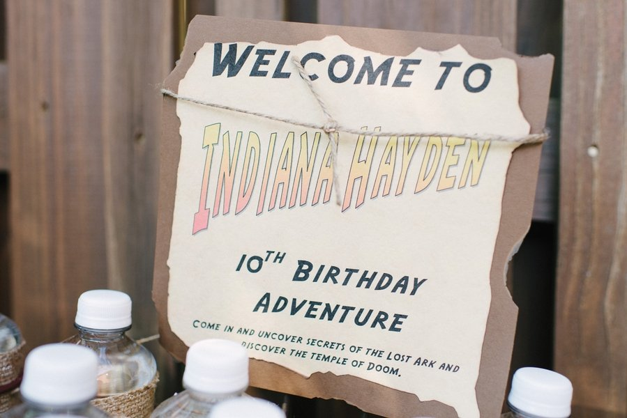 Indiana Jones Birthday Party!