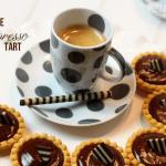 chocolate espresso ganache tart
