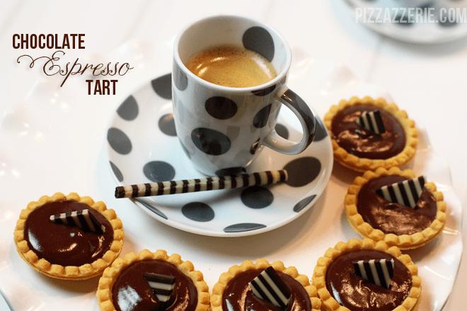 chocolate espresso tart recipe
