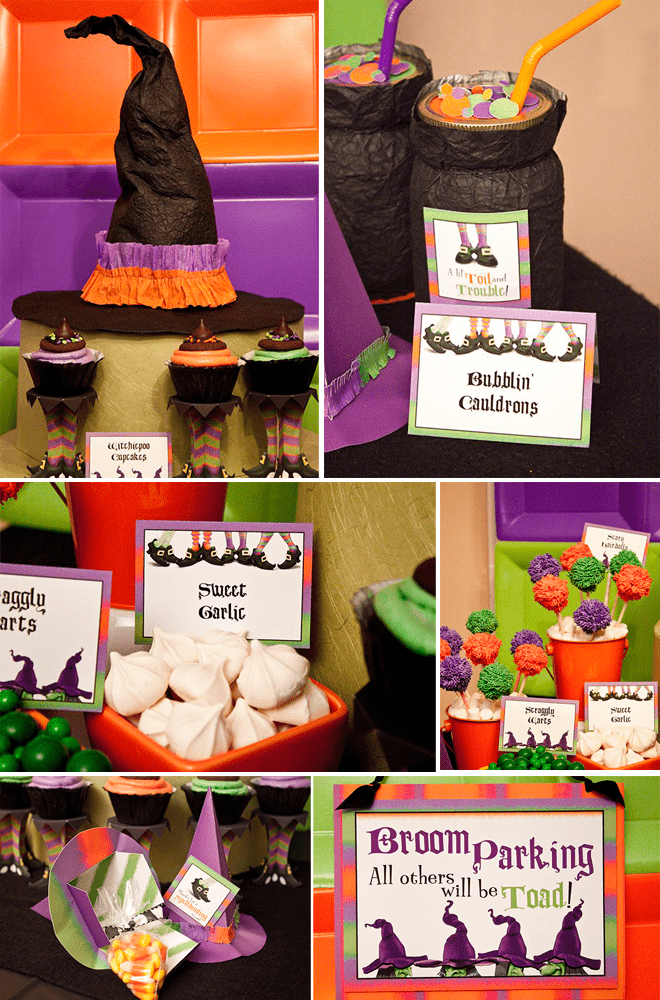 Cute Lil' Witches Halloween Party