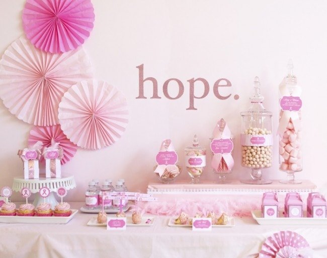 breast cancer awareness party printables
