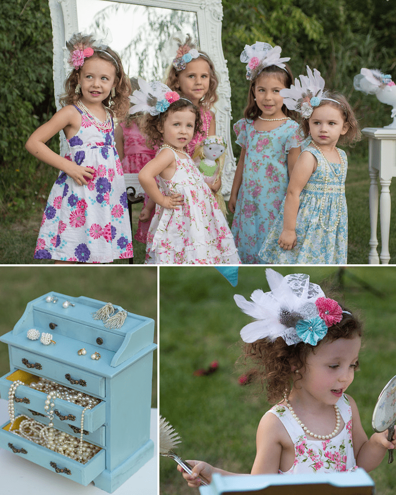 cute tea party dress up