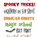 Halloween Free Fonts