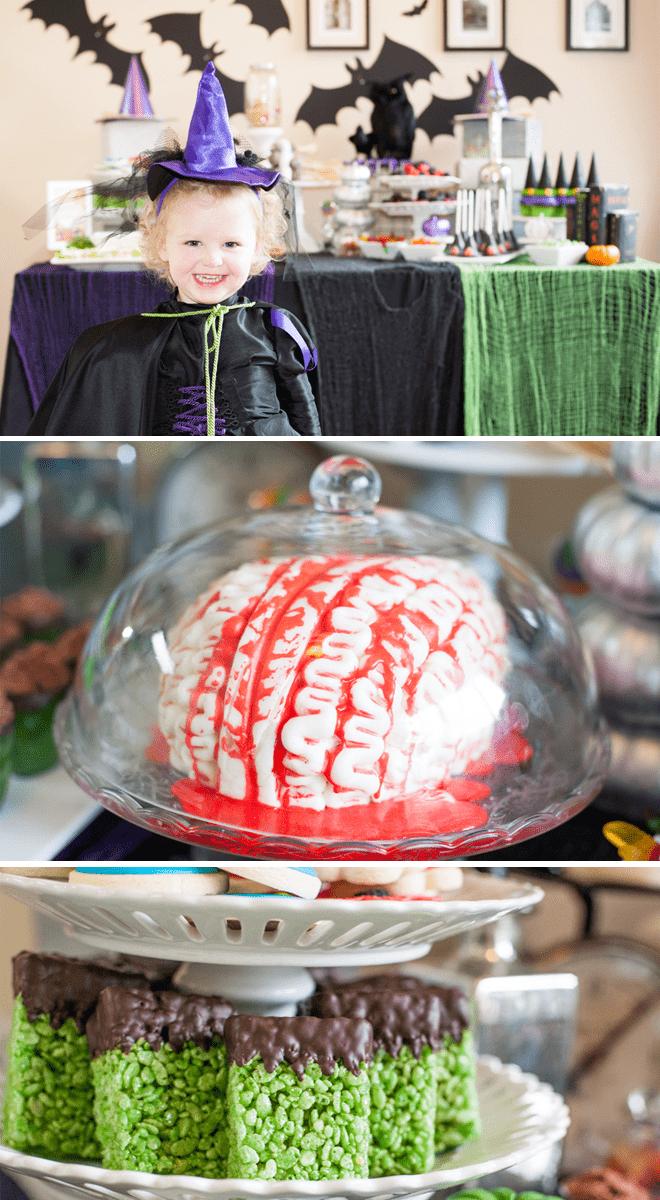 Monster Brain Cake