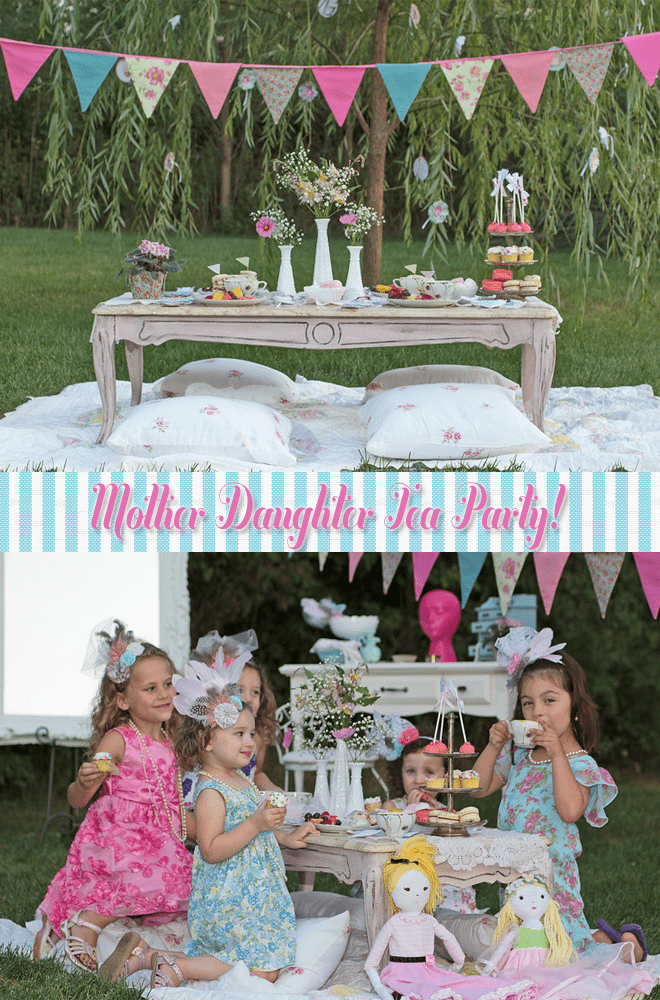 Mother Daughter Tea Party!