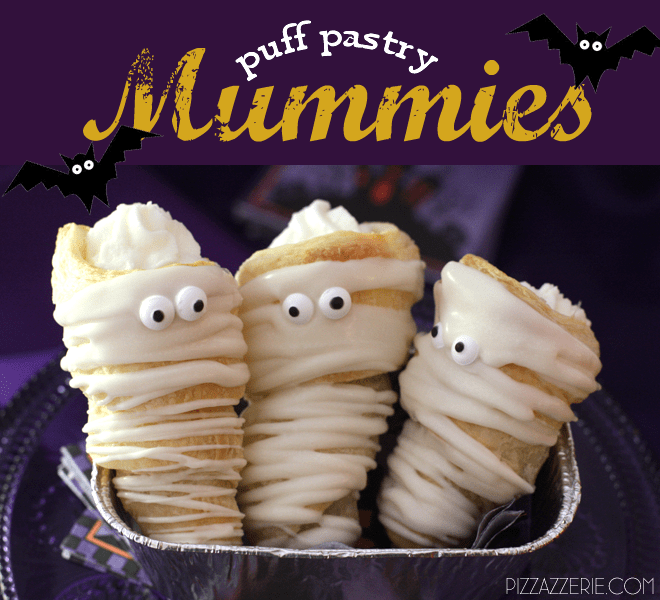 {Halloween Recipe} Puff Pastry Mummies!