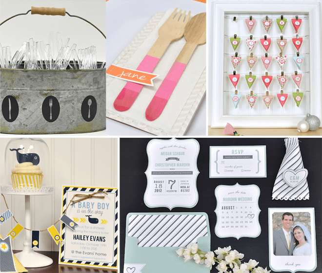 Fun Projects + DIY ideas made with the Silhouette Machine!