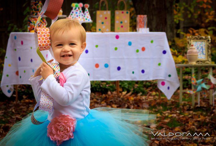 It's A Polka Dot Birthday Party!