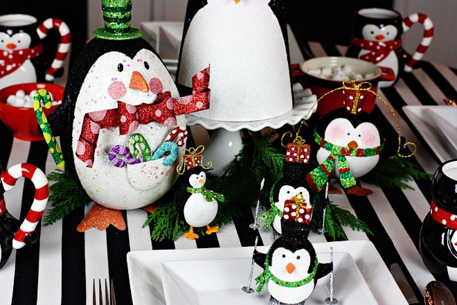A Pier 1 Holly Penguin Party!