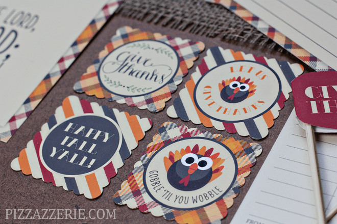 Thanksgiving Printable Collection by Pizzazzerie