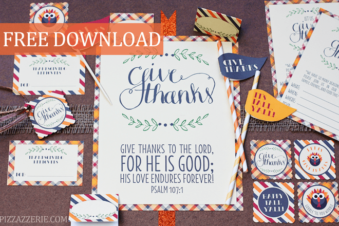 Thanksgiving Free Printable