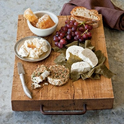 cheese and cracker platter