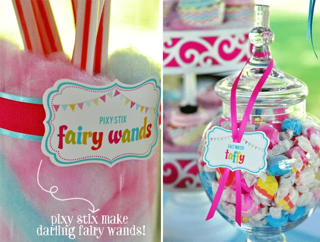 Pixy Stix Fairy Wands!