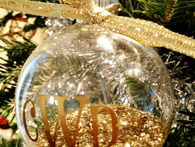DIY Monogram Ornaments & Silhouette Black Friday Deals!