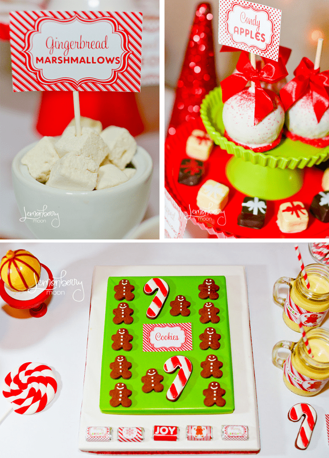 Holiday Treats: Gingerbread Marshmallows + Candy Apples!