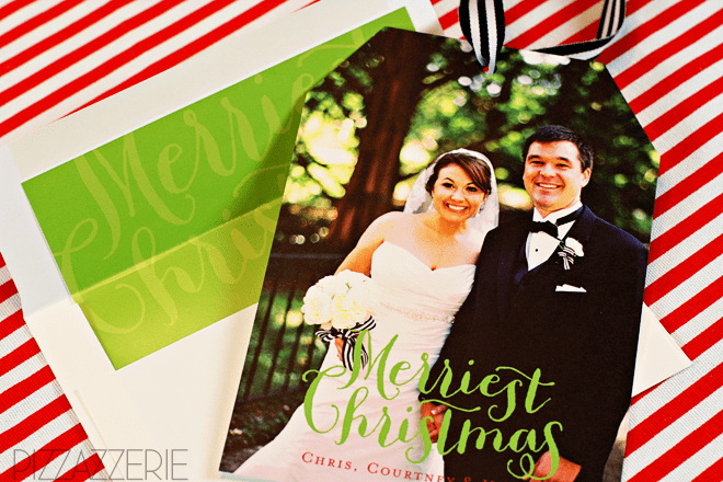 Minted Holiday Cards! - Tag Style!