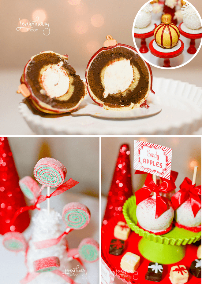 Holiday Ornament Cake Balls