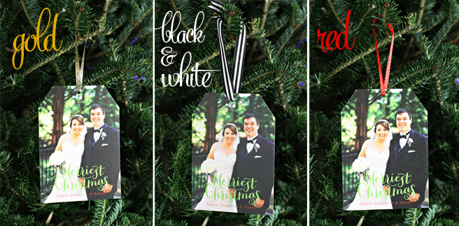 Minted Holiday Cards by Pizzazzerie