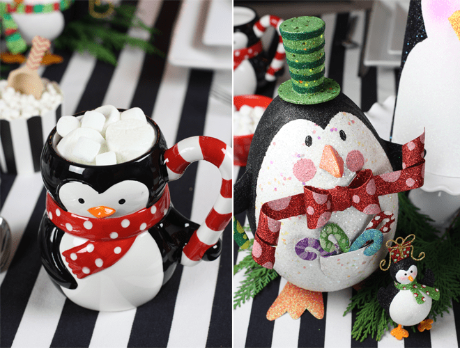Holly Penguin Party with Pier1 by Pizzazzerie
