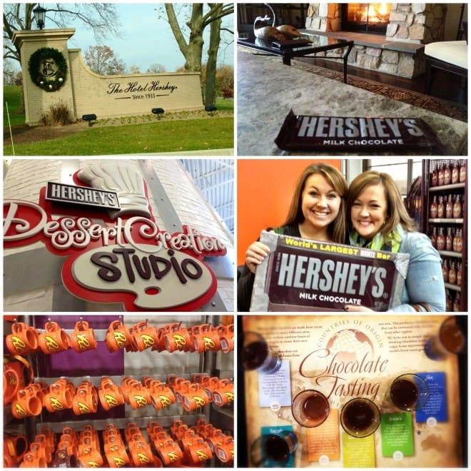 hershey baker's dozen blogger trip