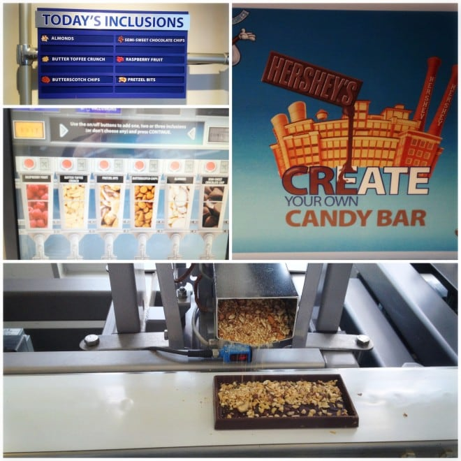 Hershey Create Your Own Candy Bar