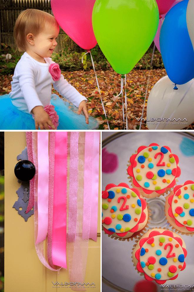Cute Polka Dot Party Details