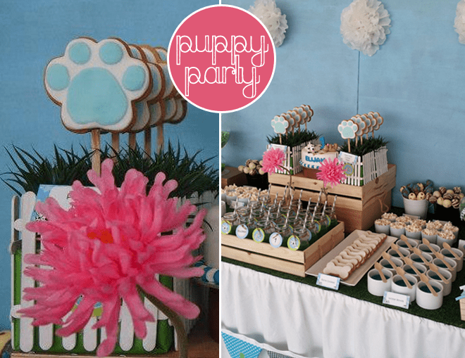 Adorable Puppy Themed 1st Birthday Party!