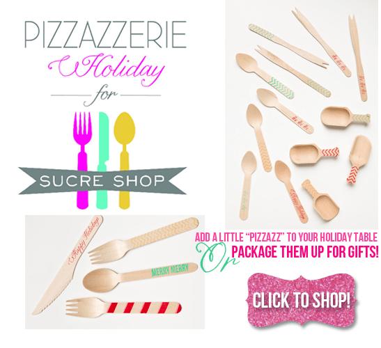 Pizzazzerie for Sucre Shop