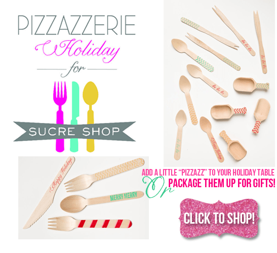 Pizzazzerie for Sucre Shop