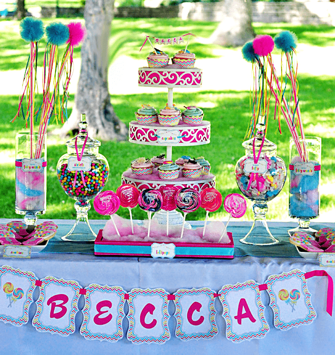 Sweet Shoppe Birthday Party!