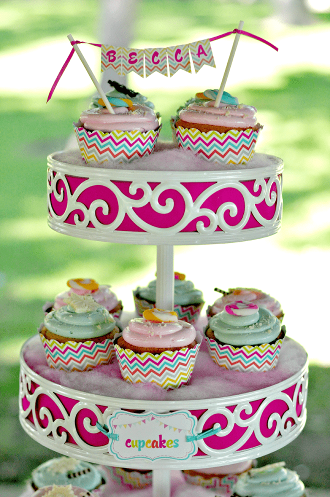 Sweet Shoppe Birthday Cupcakes