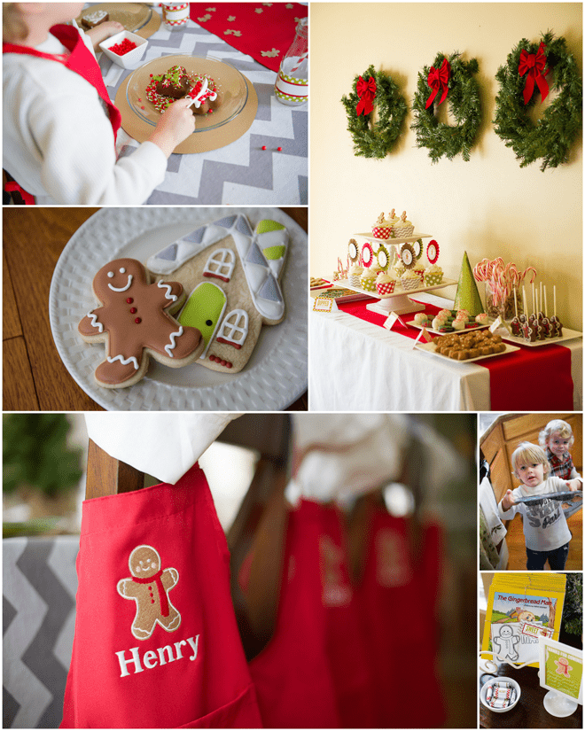 Gingerbread Man Baking Playdate featured on Pizzazzerie