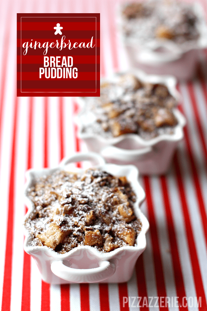 GINGERBREAD BREAD PUDDING! totally delish! #alexiafoods