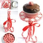 Tutorial: How to Make a Peppermint Cupcake Stand!