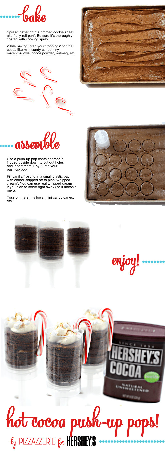 Hershey's Hot Cocoa Push-Up Pops by Pizzazzerie!