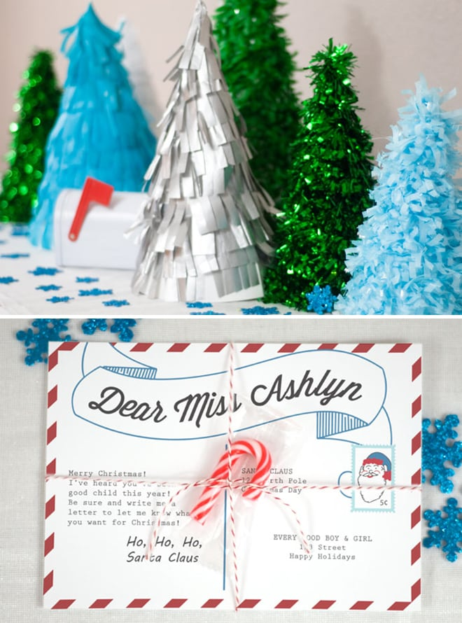 Adorable Letters to Santa Party by Confetti Sunshine featured on Pizzazzerie.com