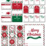 Free Holiday Printable Collection: 2 Color Schemes!