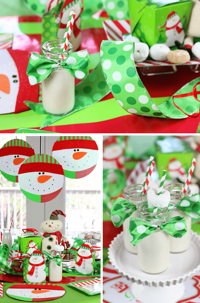 Tips + Ideas for throwing a festive holiday Christmas Morning Party!