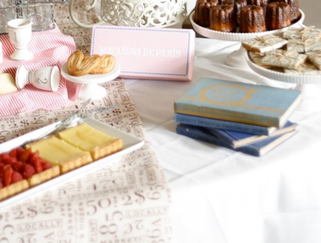 Darling French Market Baby Shower!