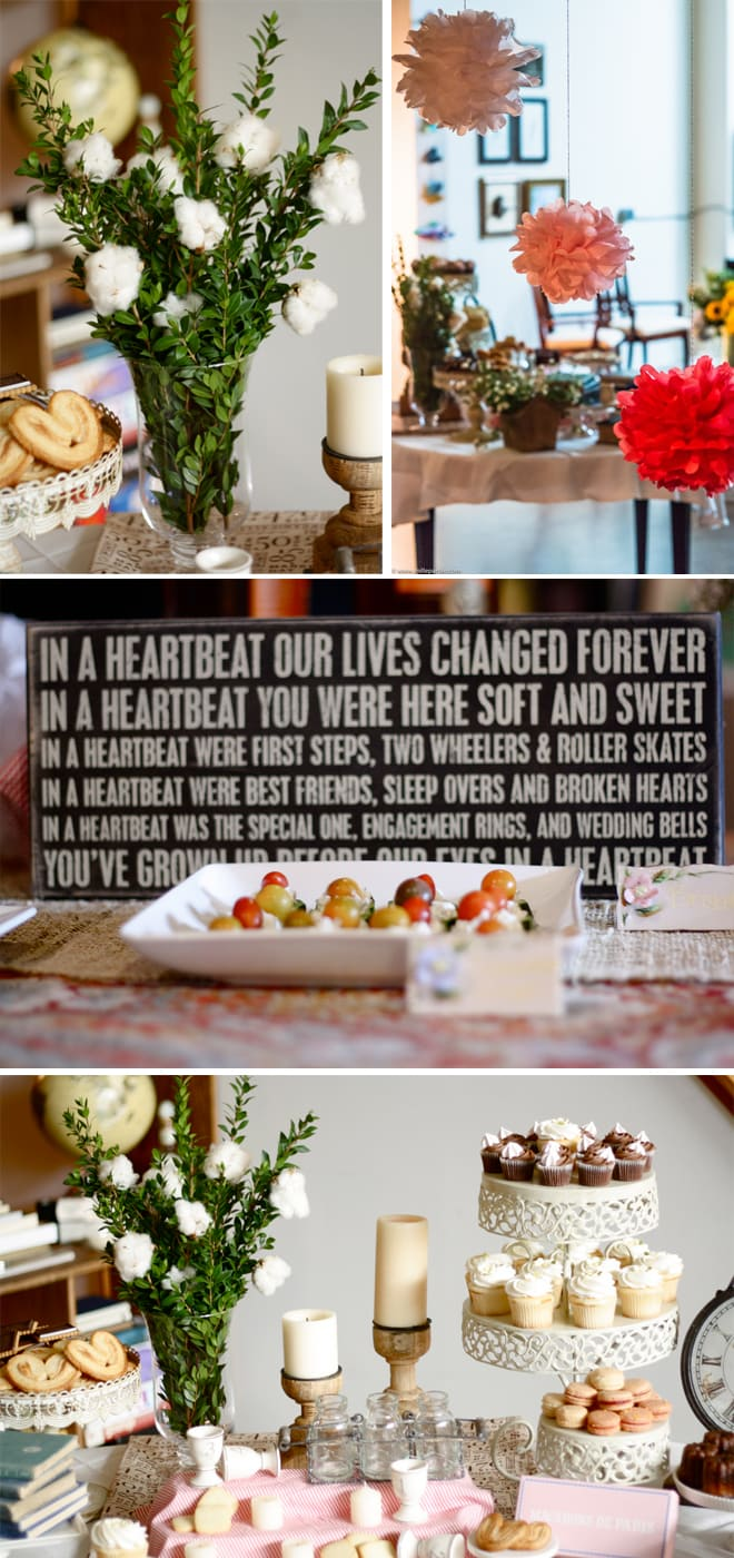 French Market Baby Shower Details!