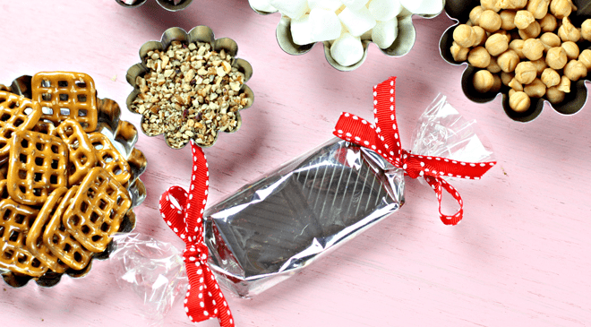 How to Make Your OWN CANDY BARS!