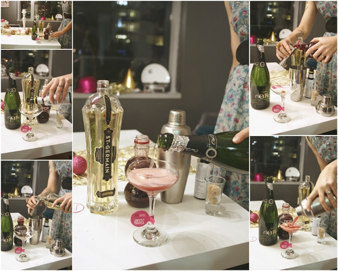 Chic Pink ad Gold New Year's Eve Party!