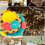 Colorful Confetti Baby Shower!