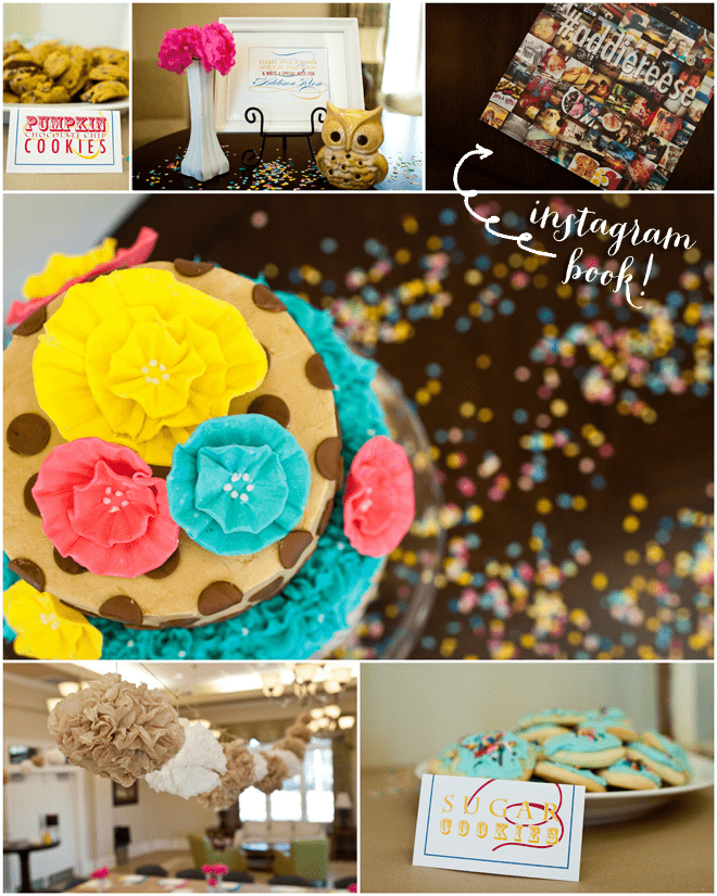 Confetti Adds a Pop of Color to this BABY SHOWER!