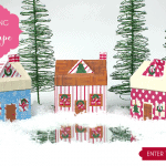 These gingerbread houses are made with DUCT TAPE!