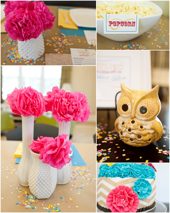 Colorful Baby Shower Details